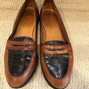 Vintage 90s Allen Edmonds women\u2019s leather loafers